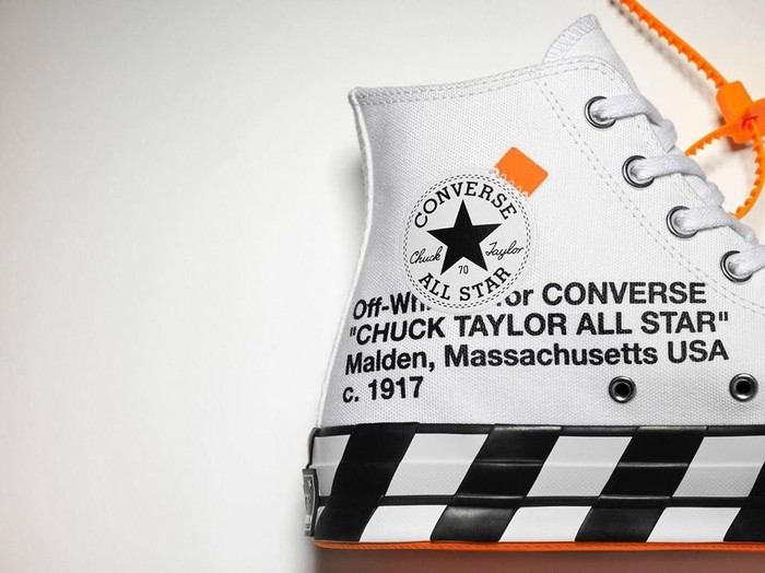 Sneakers Chuck 70s Off-White x Converse (Foto: Instagram/@off__white__jakarta)
