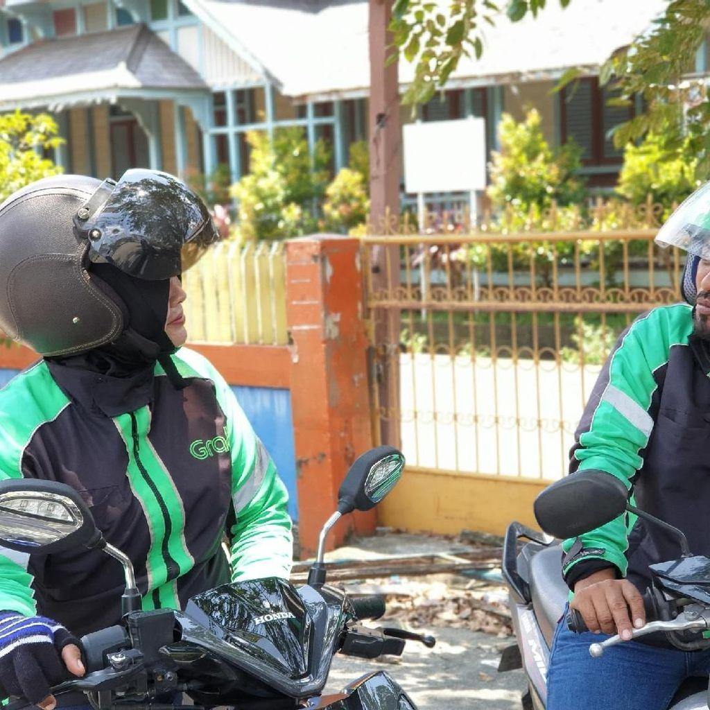 Sama-sama Jadi Driver Ojol, Fahrul & Yeni Kompak Besarkan 3 Anak