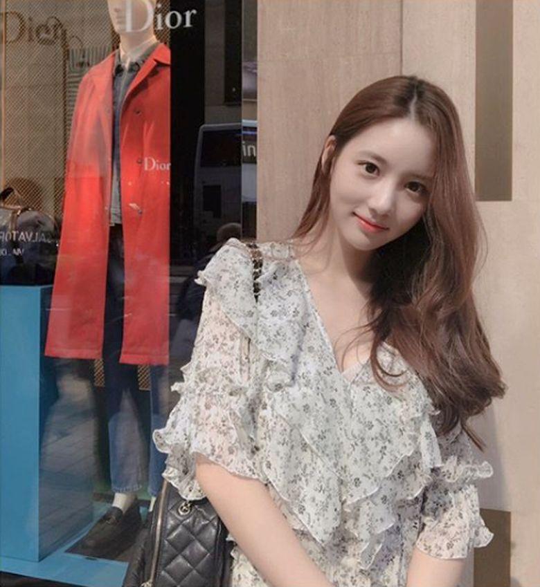 Nama Han Seo Hee kembali muncul di kasus narkoba B.I iKON.Dok. Instagram/hxxsxxhee