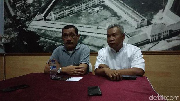 Kakanwil Kementerian Hukum dan HAM Jawa Barat Liberti Sitinjak (kiri)