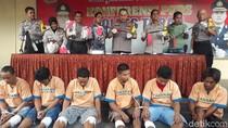 Tujuh Pelaku Kejahatan di Tuban Tertangkap dan Dihadiahi Timah Panas
