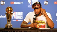 Akhirnya, Kawhi Leonard Tersenyum Lebar Usai Jadi Juara NBA