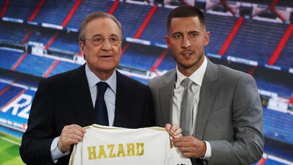 Hazard Minta Nomor 23 ke Madrid?
