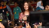 Gwen mengaku dirinya dan Dedey Mulyawan sama-sama single saat pertama bertemu.Pool/Noel/detikFoto.