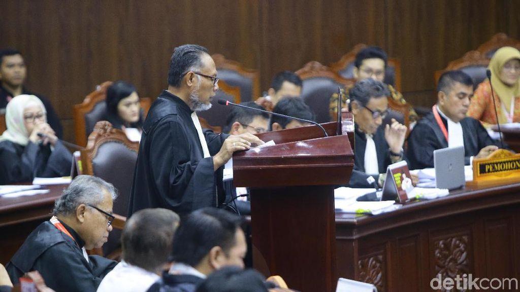 Hakim MK Tegaskan Tidak Ada Landasan Hukum Saksi MK Dilindungi LPSK