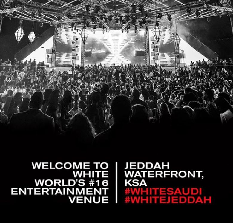 Arab Saudi membuka kelab malam halal di Jeddah. Foto-foto berikut diambil dari Instagram resmi White Club Saudi.