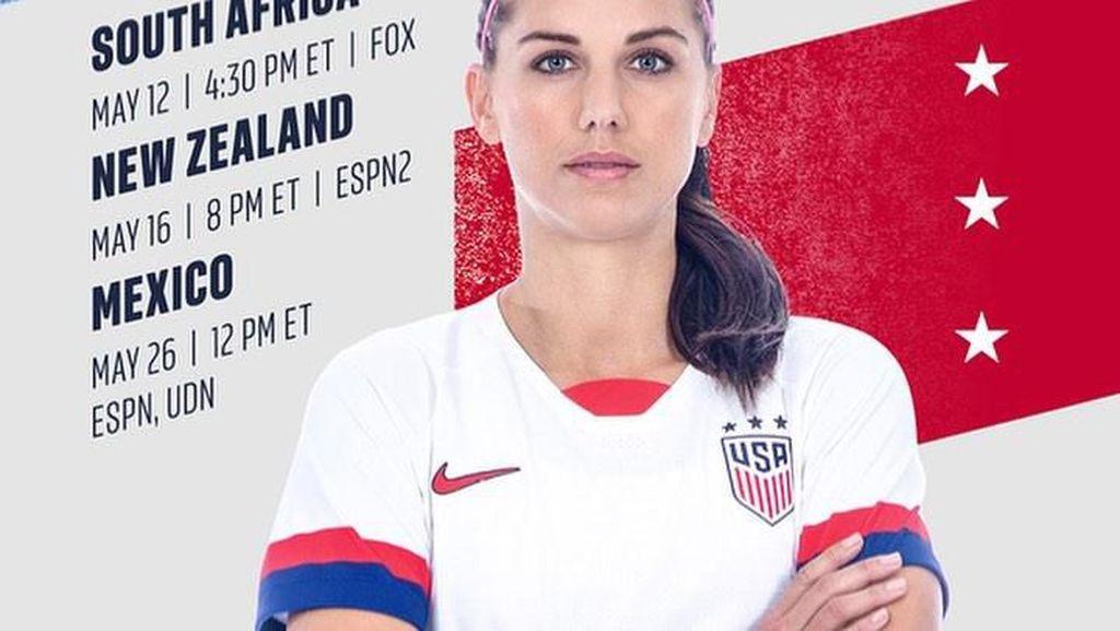 Cetak Rekor di Piala Dunia Wanita, Alex Morgan Ternyata Penyuka Yogurt dan Jus