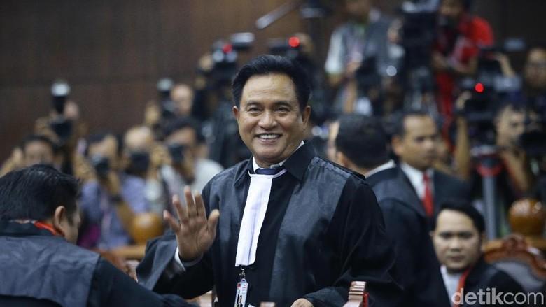 Yusril Sindir Kubu Prabowo Bangun Narasi Kecurangan Tanpa Bukti