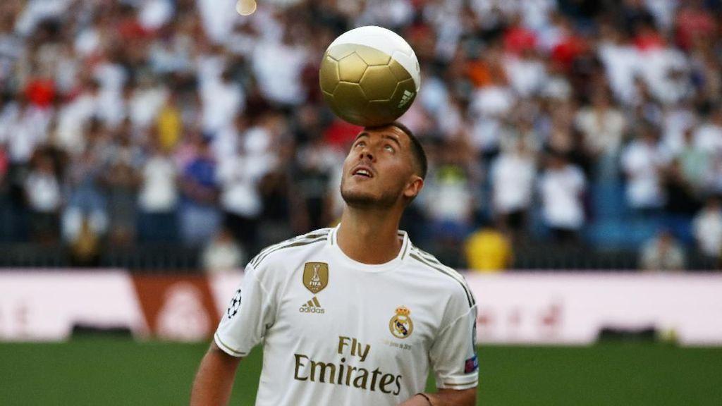 Jangan Bandingkan Hazard dengan Ronaldo