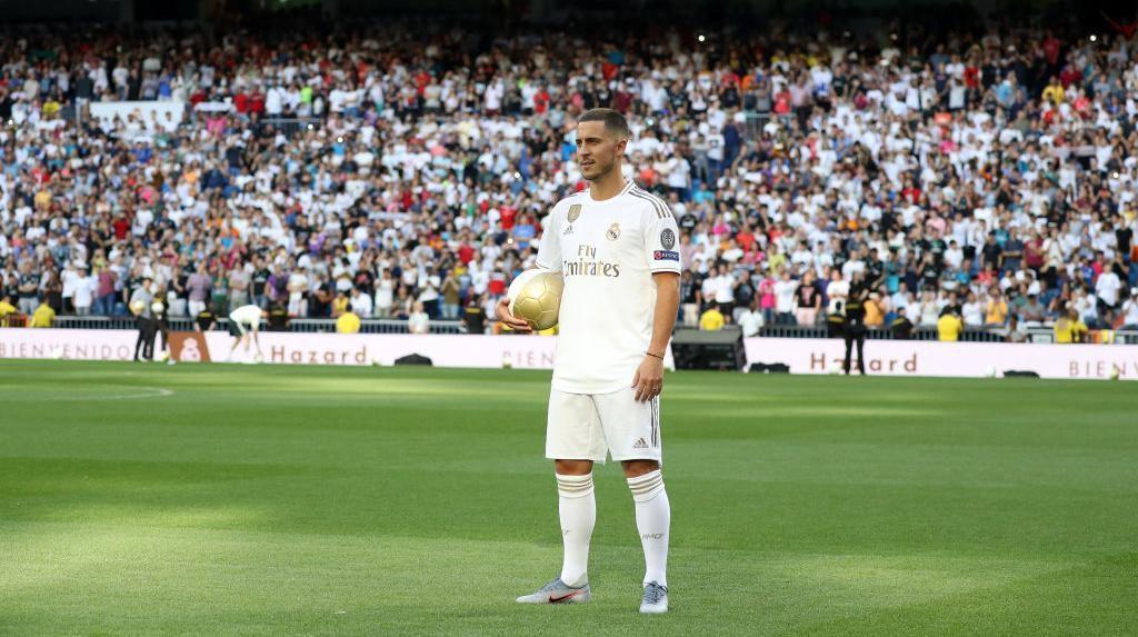 50 Ribu Madridista Sambut Hazard, Tak Seramai Kedatangan Ronaldo
