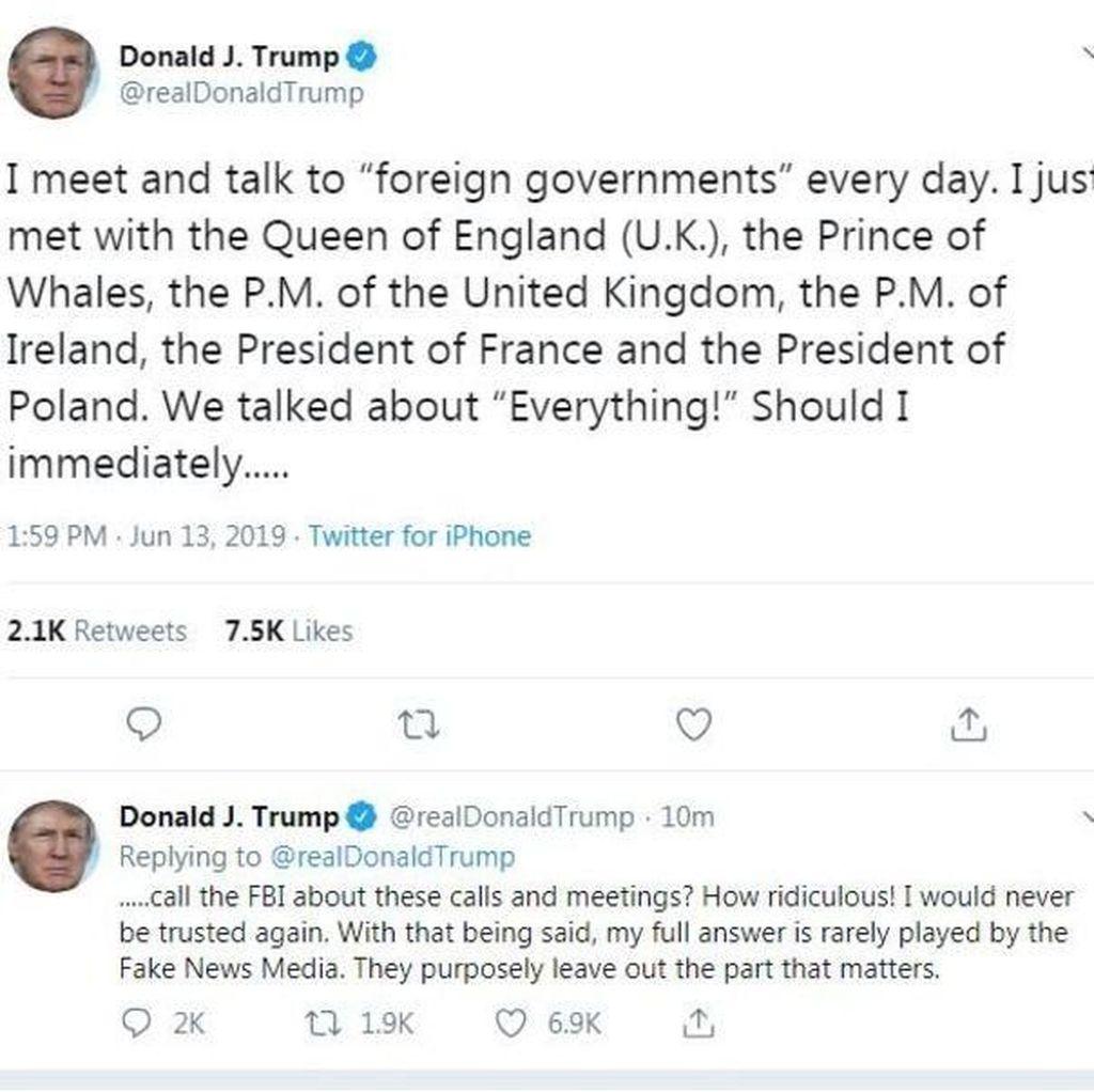 Serangan Beruntun Trump ke Media AS