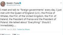 Saat Trump Salah Sebut Pangeran Charles sebagai Prince of Whales