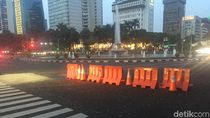 Lalin di Jalan Medan Merdeka Barat Belum Dibuka Usai Sidang MK