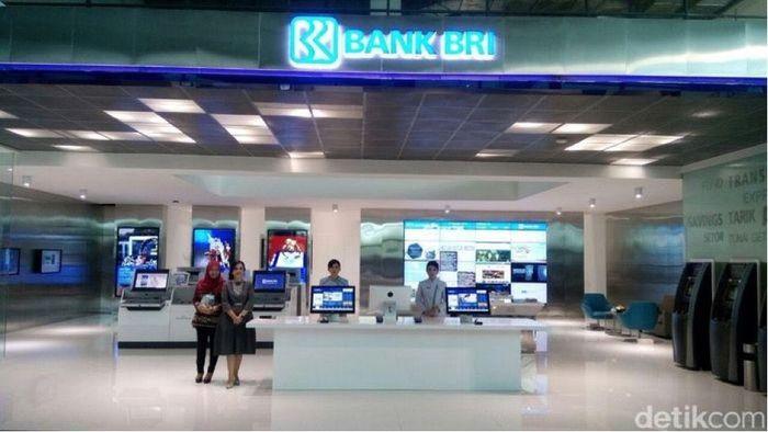 Banking hall BRI (Foto: Ardan Adhi Chandra/detikcom)
