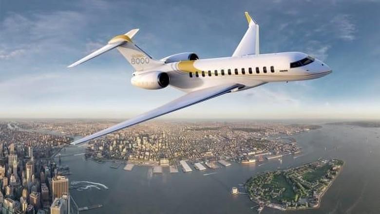 Pesawat Bombardier(CNN)