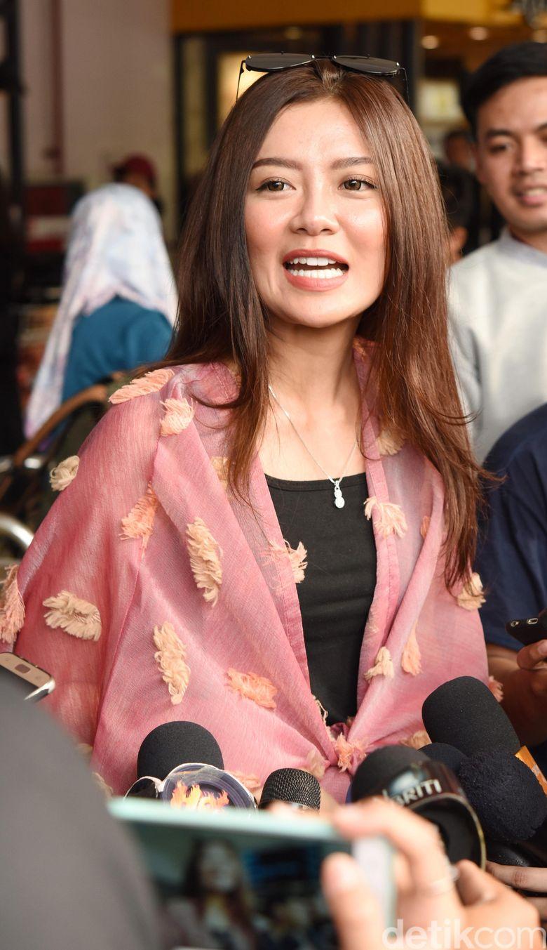 Gwen Priscilla saat ditemui di Halim Perdanakusuma, Jakarta Timur pada Kamis (13/6). Pool/Noel/detikFoto.