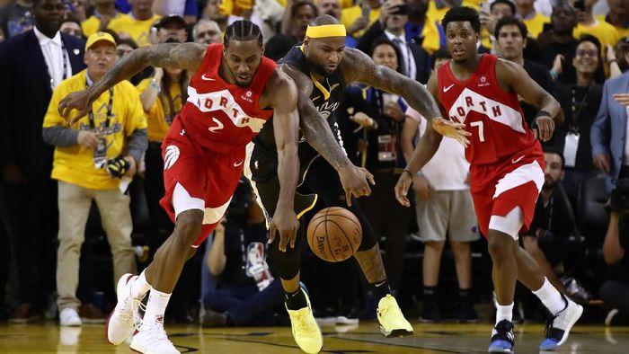Toronto Raptors juara NBA usai mengalahkan Golden State Warriors (Foto: Ezra Shaw/Getty Images)