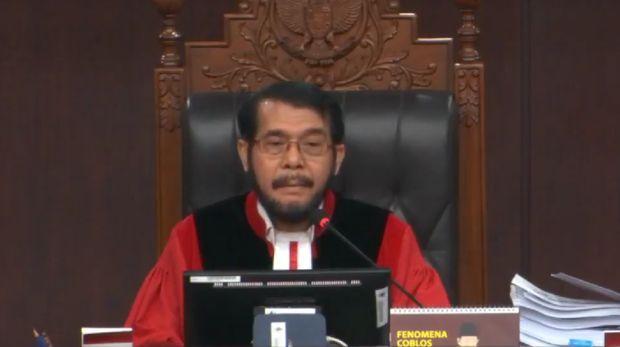 Ketua MK Anwar Usman saat sidang MK / Youtube Mahkamah Konstitusi