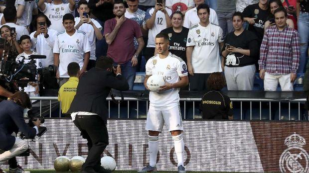 Eden Hazard jadi pemain kelima yang direkrut Real Madrid sampai sejauh ini.