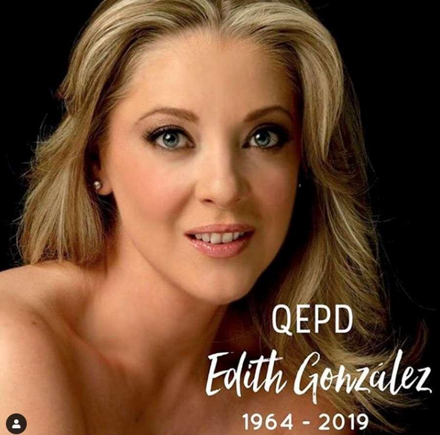 Bintang Telenovela Salome, Edith Gonzalez Meninggal Dunia