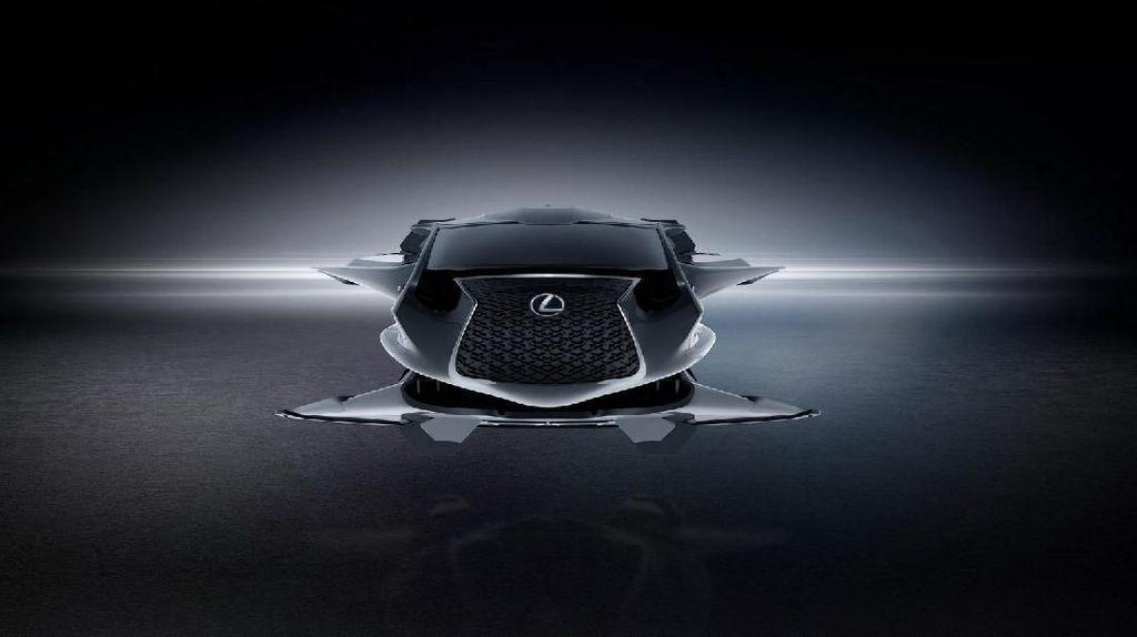 Jika Lexus Ciptakan untuk Mobil Men In Black, Pasti seperti Ini