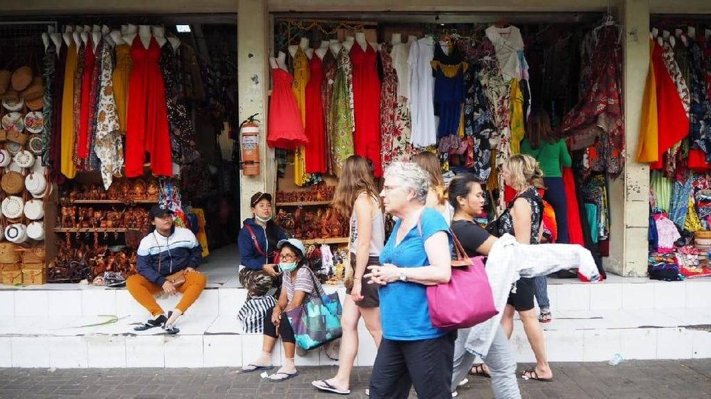 Inilah Pasar Sukawati, Tempat Belanja yang Dikunjungi Jokowi di Bali