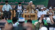 Maruf Amin dan Anies Baswedan Hadiri Haul Guru Tua