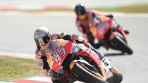 Jengkelnya Marquez pada Lorenzo di FP 3 MotoGP Catalunya