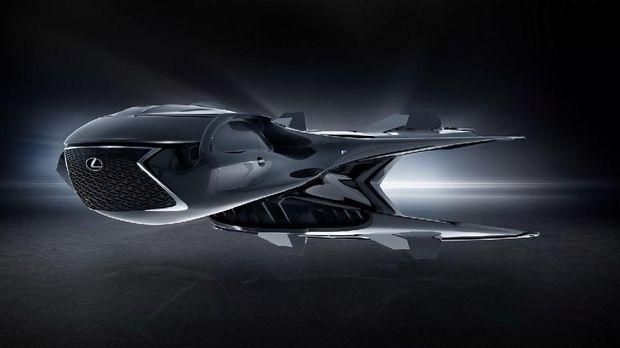 Lexus mobil jet
