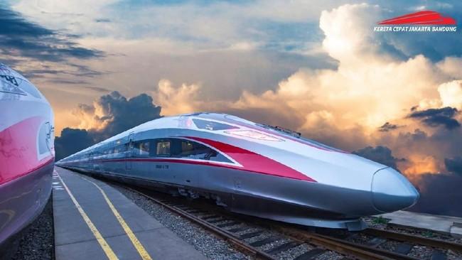 Rangkaian Kereta Cepat Made in China Tiba di RI 2020
