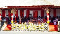 Hadiri Pesta Kesenian Bali, Jokowi Disambut Tari Pendet