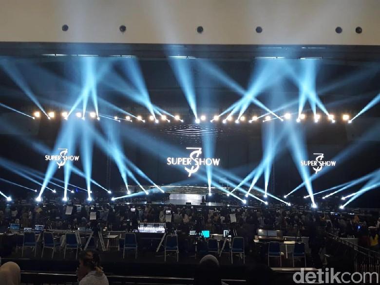 Foto: Konser Super Junior (Febrina Arifin/detikHOT)