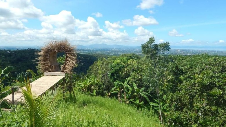 Bukit Tiga Rasa di Lombok Barat (Harianto Nukman/detikcom)