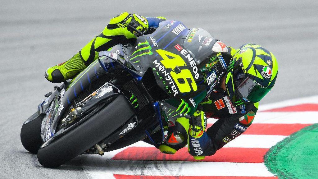 Hari Pertama yang Tak Terlalu Buruk untuk Valentino Rossi