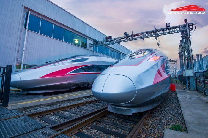 PT Kereta Cepat Indonesia China (KCIC) mengumumkan jenis kereta yang digunakan untuk operasional Kereta Cepat Jakarta-Bandung (JKT-BDG) pada 2021 mendatang. Jenis kereta yang digunakan adalah CR400AF.Foto: Dok. KCIC