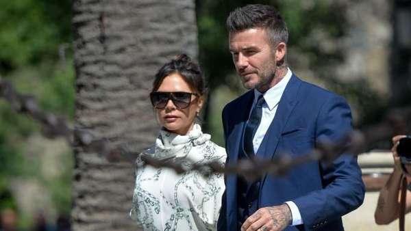 Duh! Victoria Beckham Saltum saat Hadiri Nikahan Sergio Ramos