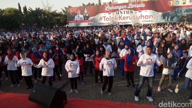 Gelaran Aksi Tolak Kerusuhan di Daerah Ini, Long March Hingga Gowes Bareng