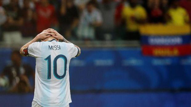 Mimpi Buruk Messi Berlanjut