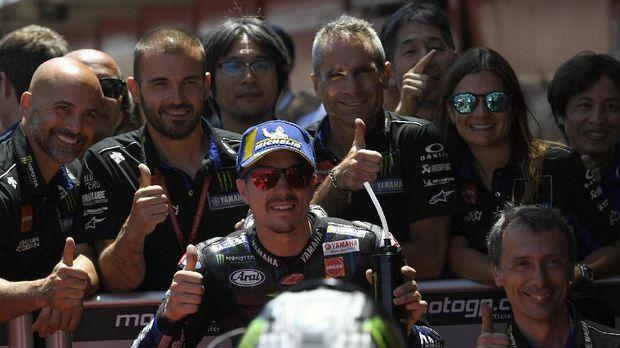 Maverick Vinales sudah tiga kali gagal finis di MotoGP 2019.