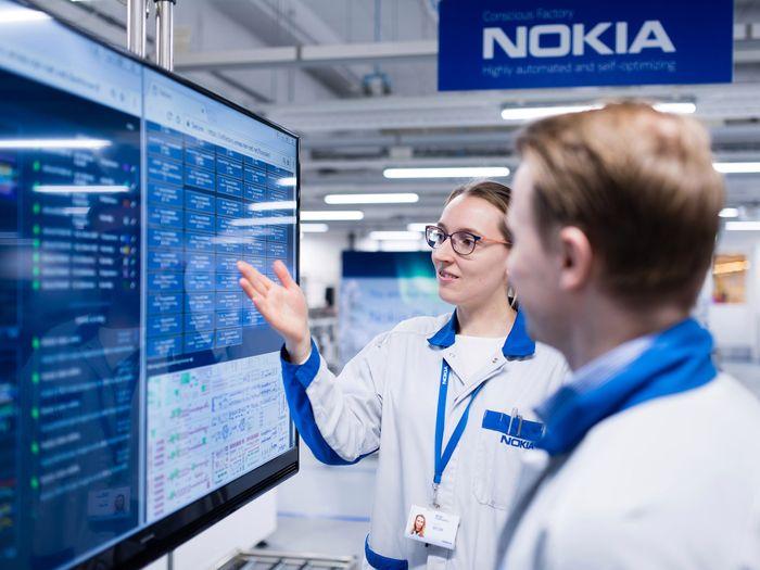 Pabrik masa depan Nokia di Oulu, Finlandia sangat mengedepankan konektivitas berkecepatan tinggi dalam mentransformasi manufaktur. Istimewa/Venturebeat.