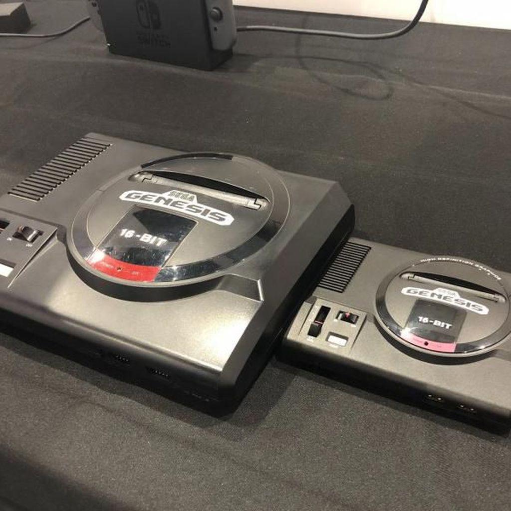 Perbandingan Genesis Mini dengan Versi Original
