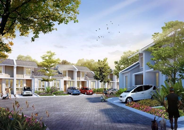 Mariposa, Rumah di Jantung Kota Sesungguhnya Hanya Rp 850 Juta