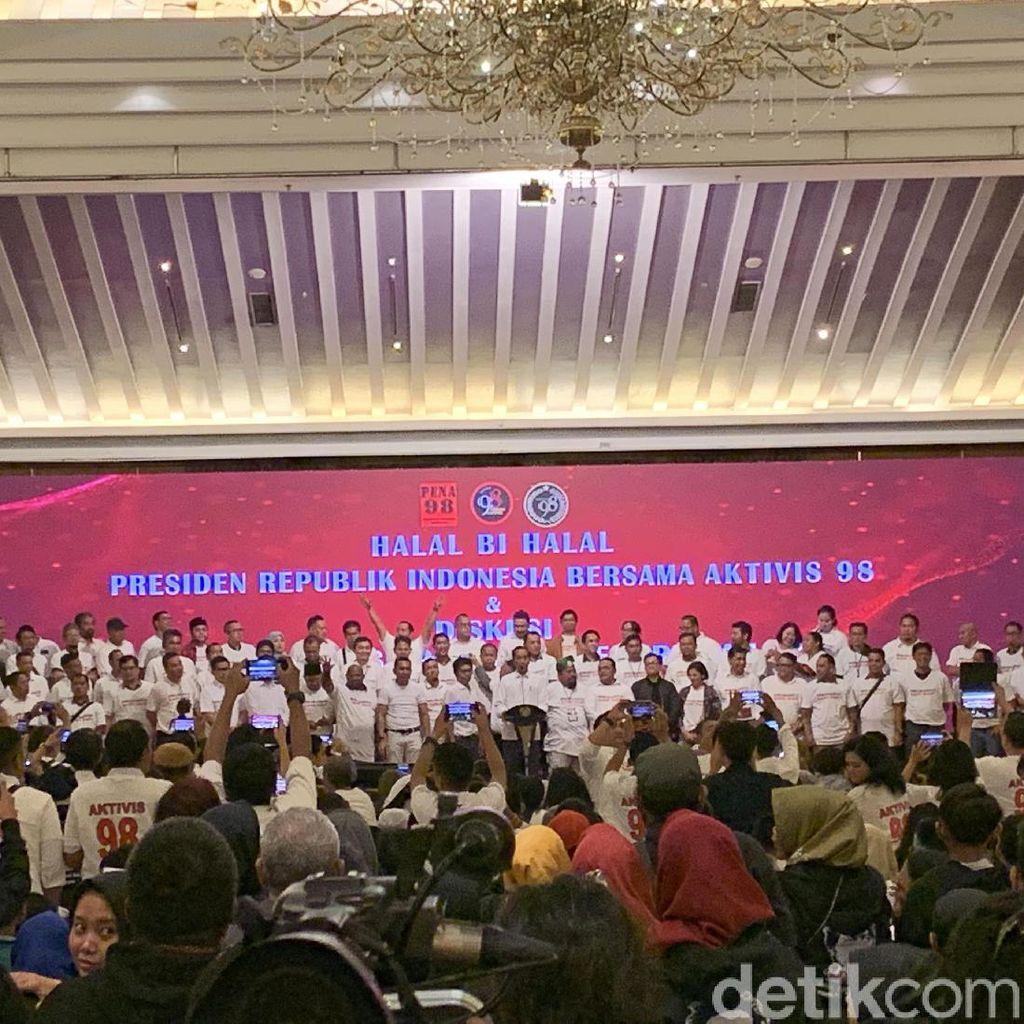 Aktivis 98 Berikrar Siap Jadi Tulang Punggung Pemerintahan Jokowi