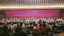 Jokowi Bertemu Aktivis 98 di Hotel Sahid Jakarta