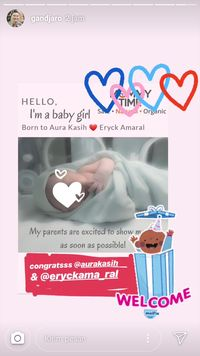 Postingan Pertama Aura Kasih Setelah Melahirkan Bayi Perempuan
