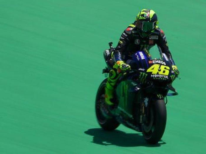 Akhir pekan yang kejam untuk Tim Yamaha di MotoGP Catalunya (LLUIS GENE / AFP)