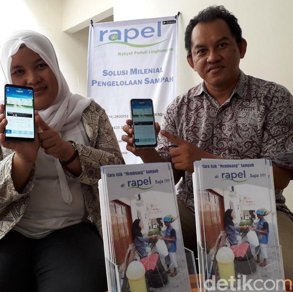 Solusi Milenial Warga Yogya, Kelola Sampah Berbasis Aplikasi
