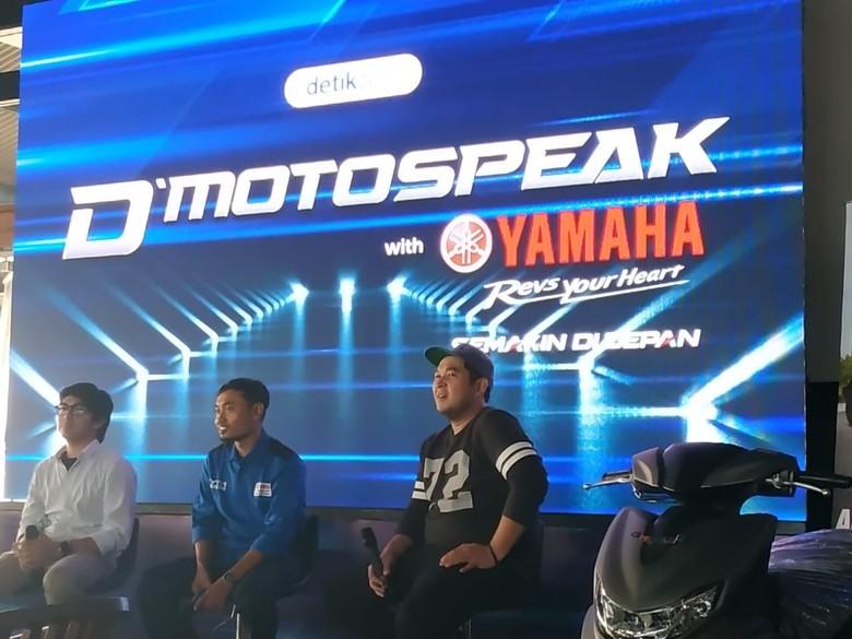 Coaching Clinic detikcom bersama Yamaha Freego. Foto: Ridwan Arifin