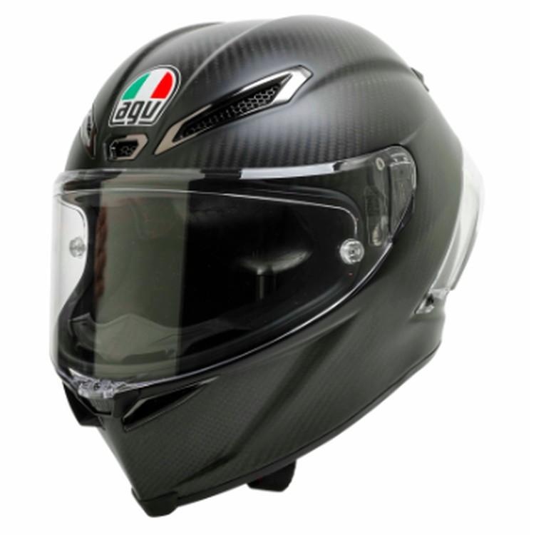 Helm AGV yang boleh digunakan di ajang MotoGP. Foto: FIM Racing Homologation Programme