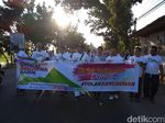 Aksi Tolak Kerusuhan di Daerah Ini, Long March Hingga Gowes Bareng